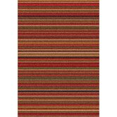 Modern Times Canyon Dark Red Rug