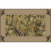 Realtree Wetlands Solid Border Novelty Rug