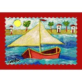 Don Sawyer My Little Boat Kids Rug