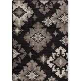 Mix and Mingle Onyx Highland Star Rug