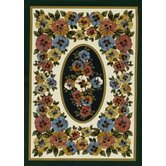 Spring Seasonal Garden View Sunrise Rug