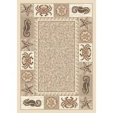 Signature Sea Life Opal Novelty Rug