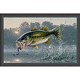 Hautman Jumping Bass Novelty Rug