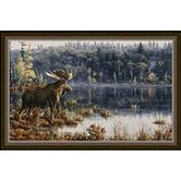 Hautman Lake Moose Mat