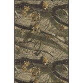 Realtree Hardwoods Solid Camo Novelty Rug