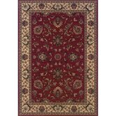 Ariana Ivory/Red Persian Rug