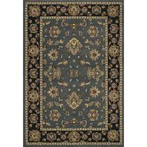Ariana Black/Blues Persian Rug