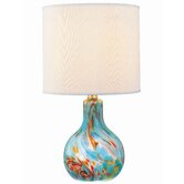 "Pepita Body 14.5"" H Table Lamp with Drum Shade"