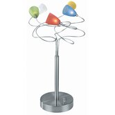 Wiggly Table Lamp in Multi