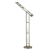 Adjustable   Floor Lamp in Chrome