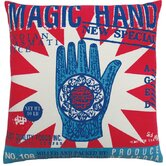 Rice 20&quot; x 20&quot; Pillow with Magic Hand Print