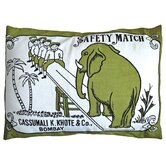 "Match Co 20"" x 26"" Sham in Olive / Black"