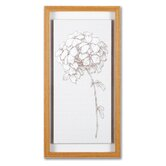"Hydrangea  Framed Print Art - 20"" X 10"" (Set of 2)"