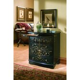 Artistic Expression Hand-Painted 4 Drawer Accent Chest