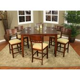 Este 7 Piece Counter Height Dining Set