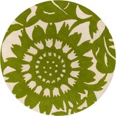 Tufted Pile Grass/Cream Zinnia Rug