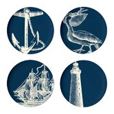 Scrimshaw Dinner Plate (Set of 4)