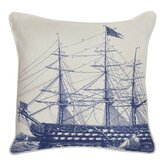 Outdoor Ship Pillow in Denim