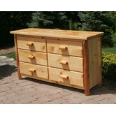 6 Drawer Dresser