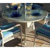 Grenada Patio Round Glass Dining Table