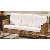 Pegasus Rattan Sofa with Cushions