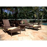 Hospitality Rattan Chaise Lounges