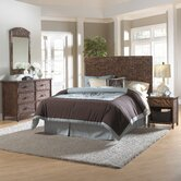Padre Island Woven Panel 4 Piece Bedroom Collection