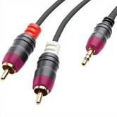 3.5 mm Jack to Stereo Phono Cable