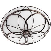 Orleans Bathroom Exhaust Fan in Light Imperial Bronze