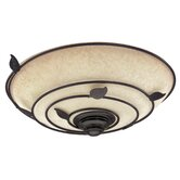 Organic Bathroom Exhaust Fan in Light Brittany Bronze
