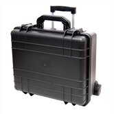 "Cape Buffalo Case With Wheels: 9"" H x 18.5"" W x 16"" D"