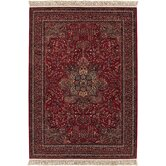 Kashimar All Over Center Medallion/Antique Red Rug
