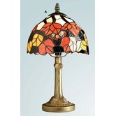 Maple Leaf Tiffany Table Lamp in Antique