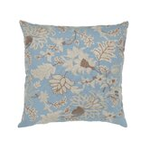 Crewel Linen Square Pillow