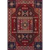 Inspired Design Vallero Red Rug