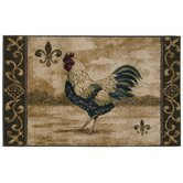 Reflections Maison Rooster Novelty Rug