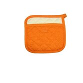 MUincotton 9&quot; Potholder in Orange