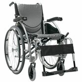 Ergonomic Lightweight Wheelchair with Quick Release Axles