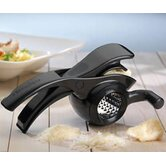 Two in One Rotary Grater in Black