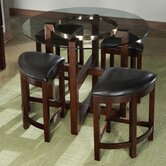 Coronado 5 Piece Counter Height Dining Set