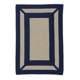 Simply Home Frame It Navy Rug