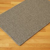 All-Natural Wool Herringbone Dark Gray Rug