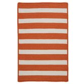 Stripe It Tangerine Rug