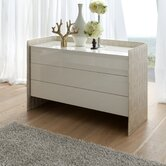 Oyster 3 Drawer Dresser