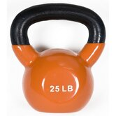 25 lbs Premium Vinyl Kettlebell
