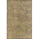 Arabesque Light Blue/Tan Rug