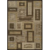 Dream Brown Geometric Rug