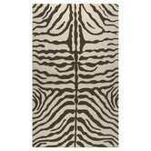 Resort Brown Zebra Outdoor Rug