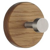 Beslagsboden Rounded Oak Coat Hook
