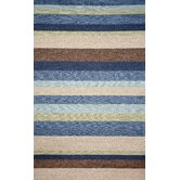 Ravella Stripe Denim Indoor / Outdoor Rug